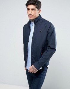 Темно-синяя куртка Харрингтон Fred Perry Ealing - Темно-синий