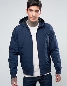 Темно-синяя куртка на сетчатой подкладке Fred Perry Brentham - Темно-синий