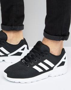 Черные кроссовки adidas Originals zx flux EM - Черный