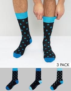 Комплект из 3 пар носков Original Penguin - Мульти