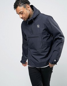 Куртка через голову с логотипом New Era Yankees - Темно-синий