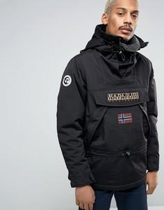Черная куртка через голову Napapijri Skiddo - Черный