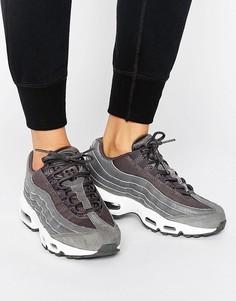 Черные премиум-кроссовки Nike Air Max 95 - Черный