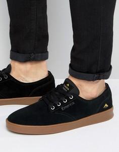 Черные кроссовки Emerica Romero - Черный
