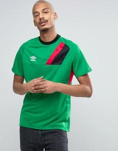 Мужская футболка Umbro - Зеленый