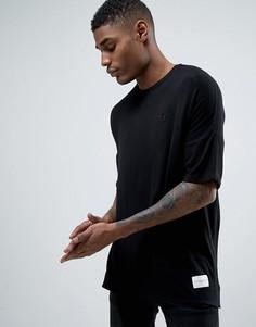 Свободная трикотажная футболка Criminal Damage - Черный