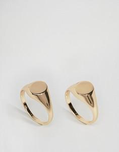 Кольца-печатки Weekday - Золотой