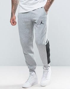 Джоггеры с логотипом Nike Jordan 834375-063 - Серый