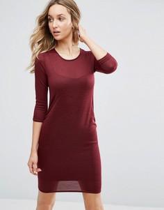 Трикотажное облегающее платье Daisy Street - Красный