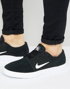 Черные кроссовки Nike SB Portmore Vapor 855973-010 - Черный