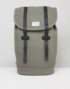Серый рюкзак Sandqvist Stig - Серый
