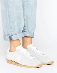 Серые замшевые кроссовки Le Coq Sportif - Серый