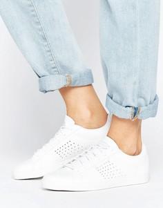 Низкие белые кроссовки из кожи Le Coq Sportif - Белый