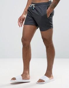 Черные шорты для плавания средней длины Oiler & Boiler Tuckernuck - Черный