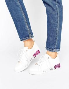 Кожаные кроссовки Ted Baker Barrica - Белый