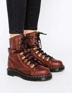 Массивные походные ботинки на шнуровке Dr Martens Coraline - Коричневый