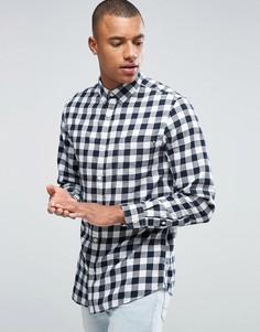Рубашка в клетку Produkt - Темно-синий
