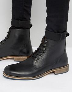 Кожаные ботинки KG Kurt Geiger Winston - Черный