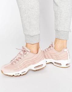Розовые кроссовки-премиум Nike Air Max 95 - Розовый