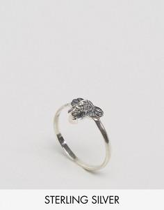 Серебряное кольцо со слоном ASOS - Серебряный