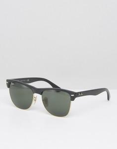 Солнцезащитные очки-клабмастеры Ray-Ban 0RB4175 - Черный