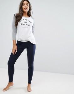 Пижама Tommy Hilfiger Iconic - Серый