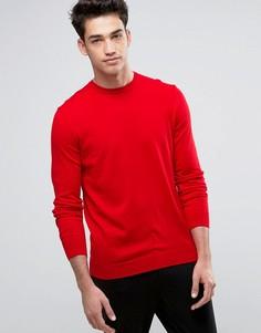 Джемпер из 100% хлопка United Colors of Benetton - Красный