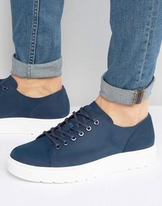 Туфли с 6 парами люверсов Dr Martens Dante - Темно-синий