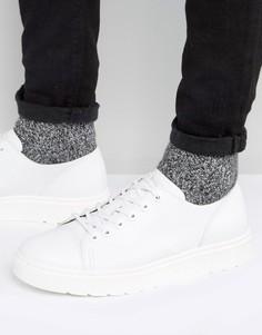 Туфли с 6 парами люверсов Dr Martens Dante Fusion - Белый