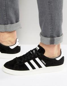 Черные кроссовки adidas Originals Campus BB0080 - Черный