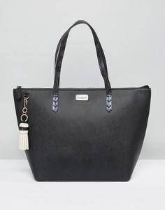 Сумка на плечо с кисточками Pauls Boutique Conner - Черный
