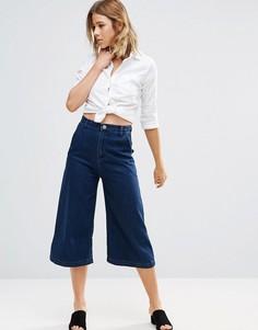 Джинсовая юбка-брюки Glamorous - Синий