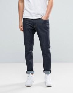 Темные зауженные джинсы Threadbare Riley - Синий