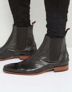 Кожаные ботинки челси Jeffery West Scarface - Зеленый