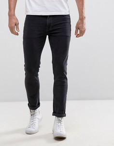 Черные зауженные джинсы ASOS - Черный