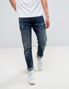 Узкие джинсы Only & Sons - Темно-синий