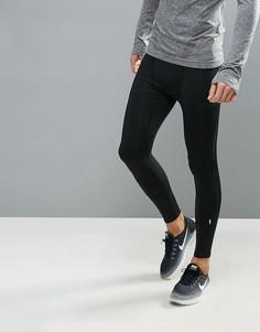 Черные леггинсы для бега New Look - Черный