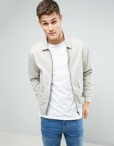 Хлопковая куртка Харрингтон D-Struct - Бежевый