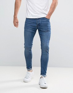 Суперузкие джинсы Brave Soul - Синий
