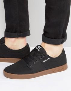 Замшевые кроссовки Supra Stacks II - Черный