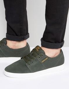 Замшевые кроссовки Supra Stacks II - Зеленый