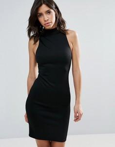 Облегающее платье с высоким воротом Talulah Relapse - Черный