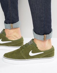 Зеленые кроссовки Nike SB Zoom Stefan Janoski 333824-310 - Зеленый