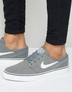 Серые кроссовки Nike SB Zoom Stefan Janoski 333824-055 - Серый