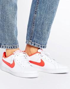 Красно-белые кроссовки Nike Court Royale - Мульти
