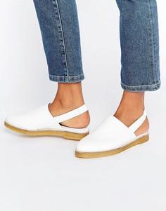 Туфли с ремешком на пятке Miista Ellie - Белый