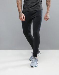 Узкие джоггеры с поясом на затягивающемся шнурке Jack & Jones Tech - Черный
