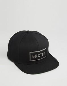 Бейсболка Brixton Rift - Черный
