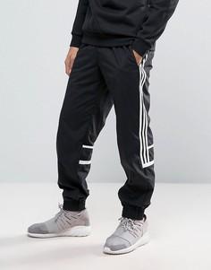 Черные тканые джоггеры классического кроя adidas Originals CLR84 BK5934 - Черный