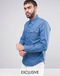 Синяя джинсовая рубашка Levis Orange Tab - Синий Levis®
